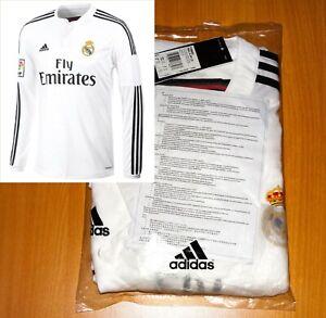 NEW UNOPENED > REAL MADRID HOME 2014 shirt jersey camisa ADIDAS SOCCER ORIGINAL