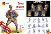 "Mars Figures 32003 ""Soviet Infantry Afghan War 1979-89"" 18 figures/6 poses, 1/32"