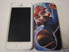 Jumping Super Mario Bros. iPhone 5 5s Premium Full Back Plastic Protective Case