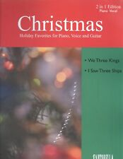 Christmas 2 in 1 Piano Vocal Sheet Music 2002 We Three Kings I Saw Three Ships