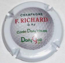 Capsule de Champagne: New !!! RICHARD P.   cuvée Daily golf  , non réf !!!