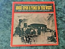 ONCE UPON A TIME IN THE WEST MORRICONE ORIGINAL SOUNDTRACK VINYL LP