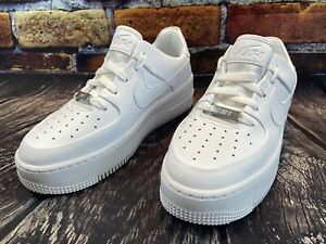 Nike Women Air Force 1 AF1 Sage Low White AR5339-100 Size 7
