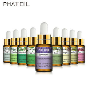 Essential Oils 5ml -  Pure and Natural -Therapeutic Grade Oil -- 37+ Options!