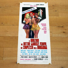 LE INIBIZIONI DEL DOTTOR GAUDENZI locandina poster Erotico Commedia AE71