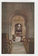 Studland Church Interior Postcard, A855