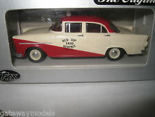 TRAX 1.43 HOLDEN FB SEDAN RED TOP TAXI SRVICE  AUSSIE TAXI SERIES TR20G