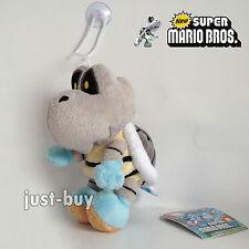"New Super Mario Bros. Plush Dry Bones Skeleton Koopa Soft Toy Stuffed Animal 6"""