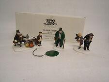 Dept 56 Heritage Village Oliver Twist 3 Piece Set Porcelain Accessory #5554-9