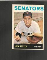 3848* 1964 Topps # 277 Ken Retzer Ex-Mt