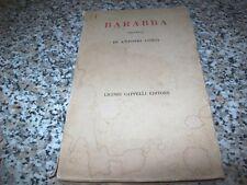ANTONIO CONTI-BARABBA.TRITTICO-LICINIO CAPPELLI EDITORE-2° EDIZIONE 1959