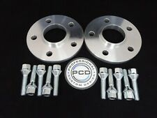 Mini F56 Wheel Spacers 1 Pair 5x112 Hubcentric 15mm 66.5CB & 10 Bolts
