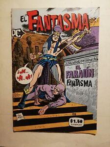 EL FANTASMA THE PHANTOM mexican comic book from 70's