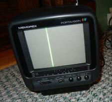 RADIO SHACK Memorex Portavison Portable 5-Inch Color VHF-UHF TV/Monitor Black