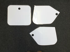 Number Backgrounds CR 250 1987 RH WHITE also CR 125 500 87-88 Decals