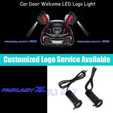 2x Blue Fairlady Z Logo Car Door Projector LED Light for Datsun 300ZX 350Z 370Z