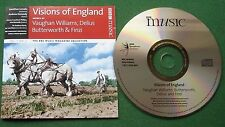 BBC Music Mag Coll Vol 17 No 2 Visions of England Vaughan Williams Delius + CD
