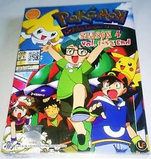 POKEMON :JOHTO LEAGUE CHAMPIONS ~~THE COMPLETE TV SERIES ENG DUB DVD BOX SET~~