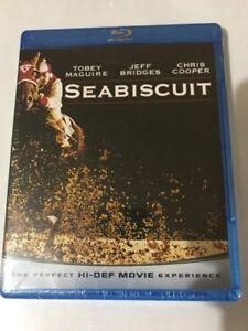 Seabiscuit (Blu-ray Disc, 2009) Brand New HI-DEF Movie Maguire Bridges Cooper
