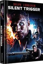 SILENT TRIGGER - Limited Uncut Mediabook Edition 2K (Blu-ray) *NEU OVP*