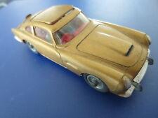 Vintage 1960s Corgi Aston Martin DB5 James Bond Ejector Seat Toy Car - Gold