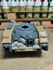Resin 28mm Track Guards Set Compatible With 40K Leman Russ Tank