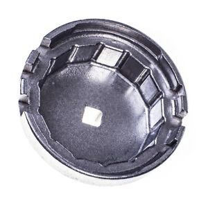 "S-DLOF38 Oil Filter Wrench Cap Socket Remover Tool Toyota Lexus 14 Flutes 3/8""Dr"