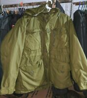 CANADIAN ARMY WINTER ARCTIC PARKA - SIZE 70/44 GORETEX REGULAR LARGE