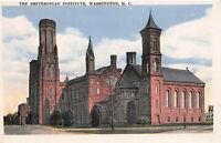The Smithsonian Institute, Washington, D.C., Early Postcard, Unused