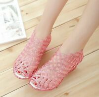 New temperament Female Sandals Wedge Plastic Jelly Shoes Breathable Women Sandal