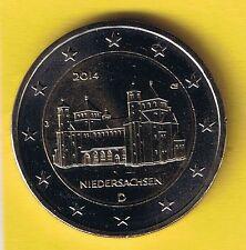 """2 Euro Sondermünze 2014 Hildesheim """"J"""" bankfrisch aus Rolle/135"""