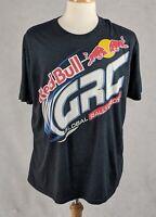Red Bull Mens Short Sleeve T-Shirt Global Rallycross GRC Size XL