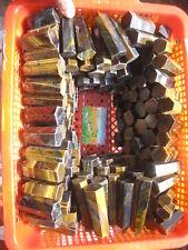 1LB(460g) A+TIGER EYE Crystal Healing WAND Point Natural Quartz Chakra Wholesal