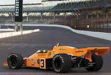 Racer 24 McLaren 12 Vintage 1970s Indy 500 Race Car Sport Metal Rare Exotic 1 18