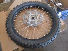 Kawasaki KX250F KX250 KX 250 2011 11 front wheel rim tire 1.6x21 80/100x21 21 in