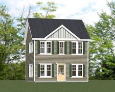 22x24 House -- 987 sq ft -- PDF Floor Plan - Model 1A
