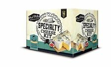 Mad Millie Specialty Cheese Kit CAMEMBERT Blue Vein Brie French Neufchatel