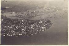 Turquie Constantinople Photographie aérienne n1 Vintage Argentique 1 juin 1919