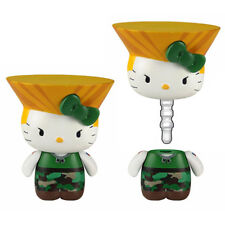 *NEW* Hello Kitty x Street Fighter: Guile Mobile Plug by Toynami
