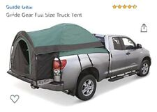 Guide Gear Green FULL SIZE TRUCK Tent Camper/Canopy for Camping & Hiking