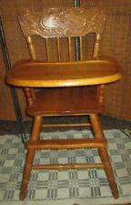 Vtg Jenny Lind Wooden Highchair High Chair 1St Birthday