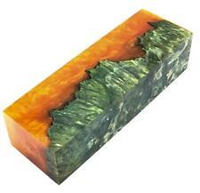 Stabilized Maple Wood Burl Turning Knife Scales Blanks Bar Burl Handle Exotic