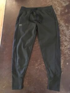 Under Armour Joggers Coldgear Dark Green Loose Small