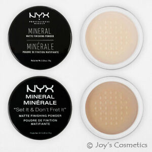 """1 NYX Mineral Finishing powder """"Pick Your 1 Color""""  *Joy's cosmetics*"""