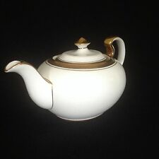 Aynsley Teapot Elizabeth Model 7947 White 2nd 16th 20th Anniversary Gift