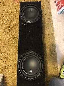 JL Audio 8w3 x 2 in twin enclosure
