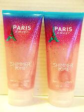 Bath Body Works PARIS AMOUR Shimmer Bomb, 6 oz/177 mL, NEW x 2