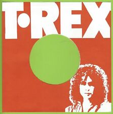 T-REX (red & white) REPRODUCTION RECORD COMPANY SLEEVES  (pack of 10)