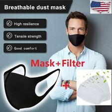 Set of 3 Face Nose Mask Breathing Cover Reusable Washable Protect For Unisex