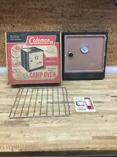 Vintage 1960's Coleman Camp Oven Model 5010A700 w/ Box Nice Condition QU-0